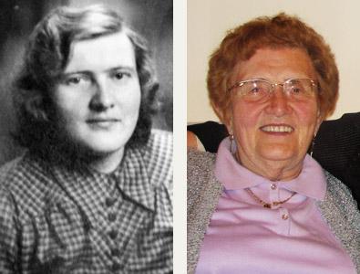 Ilse Heinrich 1948 und 2007
